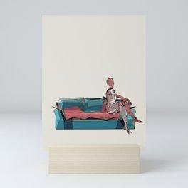 imaginary friend Mini Art Print