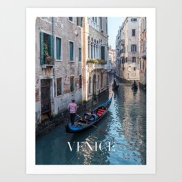 Venice 2 - Italy Art Print