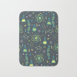 Midcentury Modern Science Bath Mat