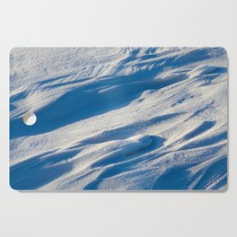 After snowfall Cutting Board