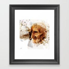 The Old man Framed Art Print