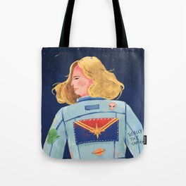 Captain Heroine Tote Bag