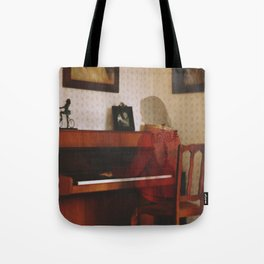 Piano lesson Tote Bag