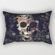 Garden Skull Rectangular Pillow