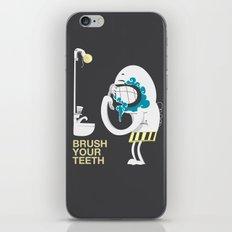 Brush your teeth iPhone & iPod Skin