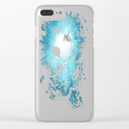 Deepness copy Clear iPhone Case