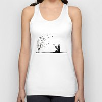 dream catcher Tank Tops featuring Dream Catcher. by Nancy Woland
