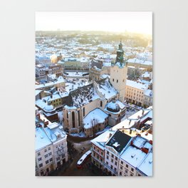 Livi Ukraine Canvas Print