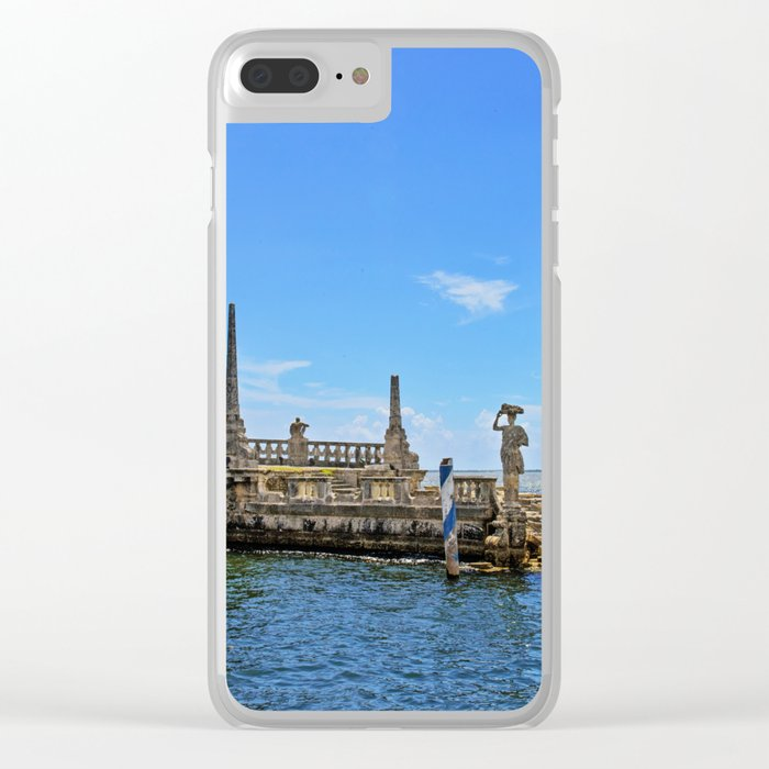 Vizcaya Barge Adventures Clear iPhone Case
