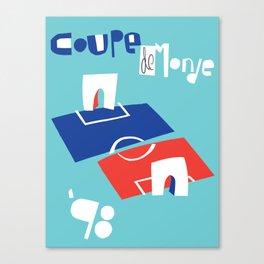 Coupe de Monde Canvas Print