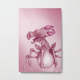 Creeper Metal Print
