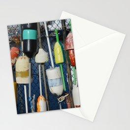 Buoys at Boston Harbor Stationery Cards