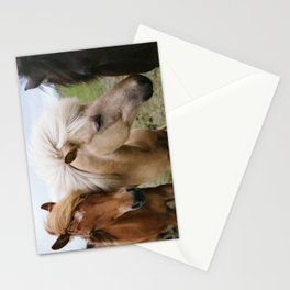 Iceland Horses Stationery Cards