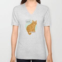 What's New Kitty Cat Unisex V-Neck