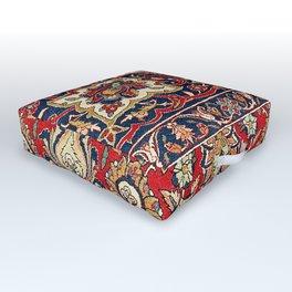 Esfahan Central Persian Rug Print Outdoor Floor Cushion