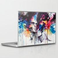 la Laptop & iPad Skins featuring la nostra infinita abnegazione  by agnes-cecile
