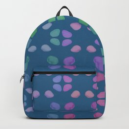 Colorful Sea Pebbles Pattern Backpack