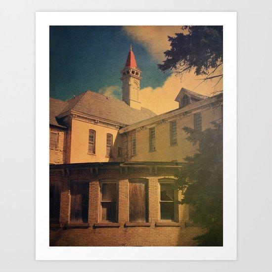 The Asylum Art Print