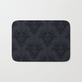 Gothic Damask - Dark Bath Mat