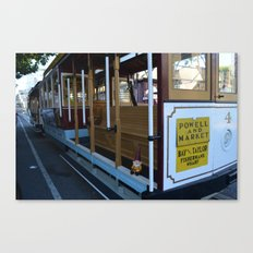 Cable Car Gnome Canvas Print