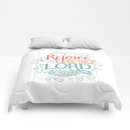 Rejoice in the Lord Comforters