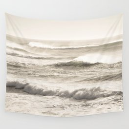 Windswept Waves Wall Tapestry
