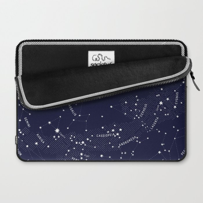 Constellation Map - Indigo Laptop Sleeve