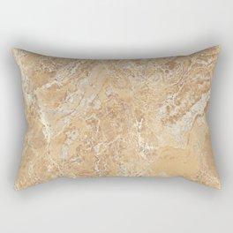 Mud Marble Texture Rectangular Pillow