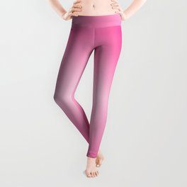 Music Notes In Pink Leggings