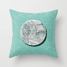 Eclipsed. Throw Pillow