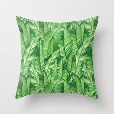 Jungle Life Tropical Throw Pillow
