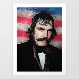 Bill The Butcher Art Print