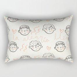 Oh la alegría llegó Rectangular Pillow