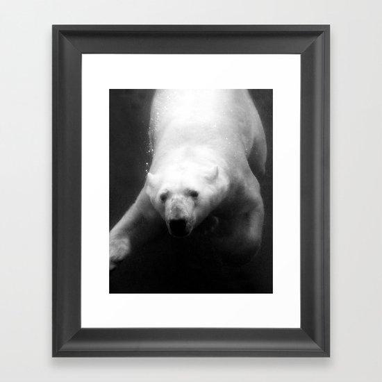 Polar Bliss Framed Art Print