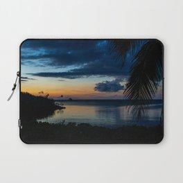 Sunset on Spanish Cay Bahamas Laptop Sleeve