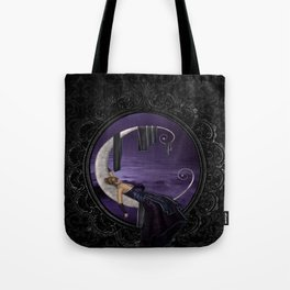 Lavender Moon Tote Bag