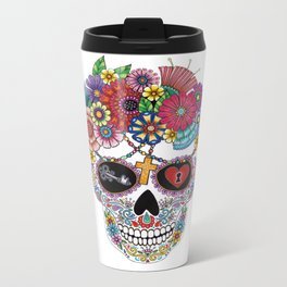 Lost Love WHITE Metal Travel Mug