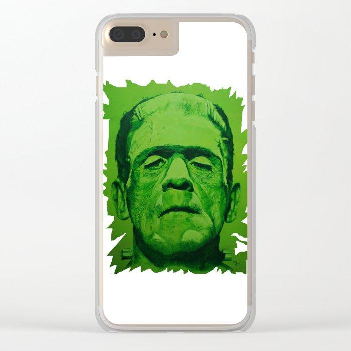 the creature (original) Clear iPhone Case