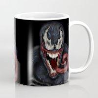 venom Mugs featuring venom by Fila Venom Art
