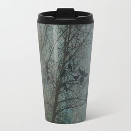 Blackbird Convention on a Snowy Day Travel Mug
