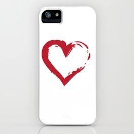 Heart Shape Symbol iPhone Case
