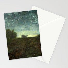 Starry Night by Jean-François Millet (ca. 1850–65) Stationery Cards