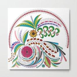 Colorful Vibes Metal Print