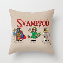 SvampPod TriForce Throw Pillow