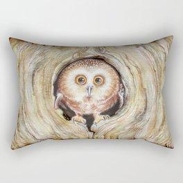 Owly Rectangular Pillow
