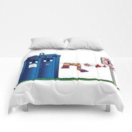 Doctor Who: tardis wardrobe  Comforters