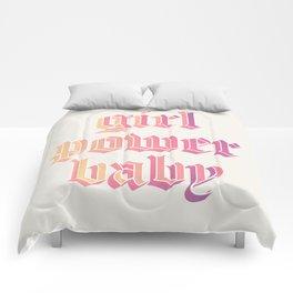 girl power baby Comforters