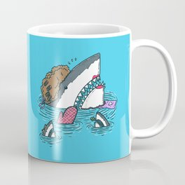 The Mom Shark Coffee Mug