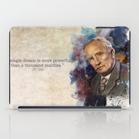 tolkien iPad Cases featuring J.R.R. Tolkien by Philipe Kling