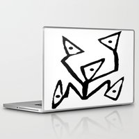 android Laptop & iPad Skins featuring PARANOID ANDROID by Ian Meth